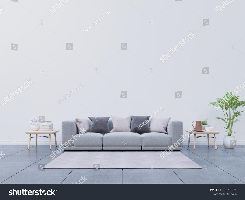 Modern Living Room Sofa Decoration Have Stock Illustration ...