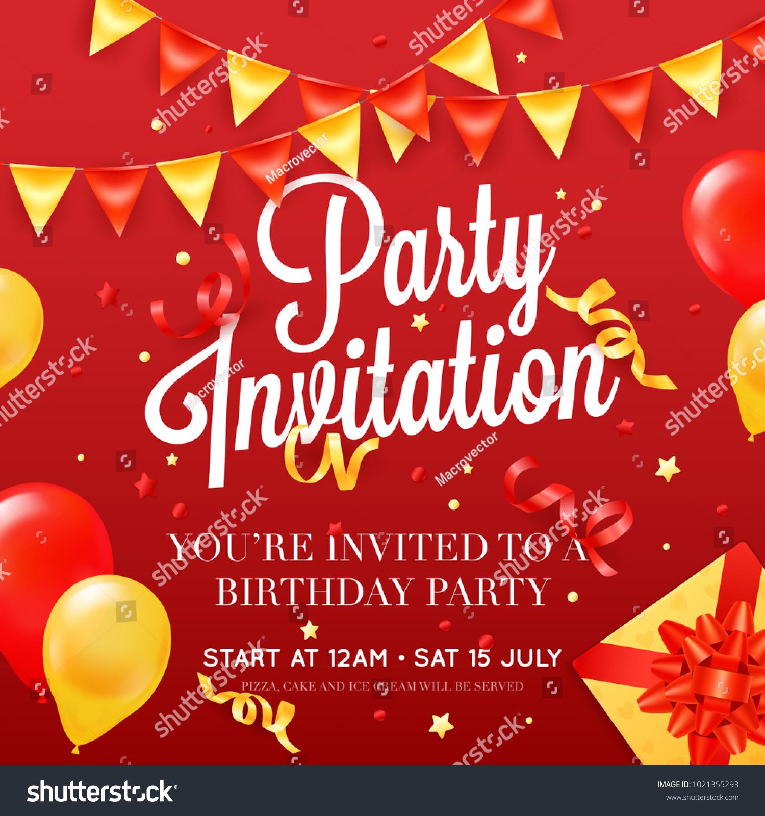perfect invitation card birthday motif invitations and