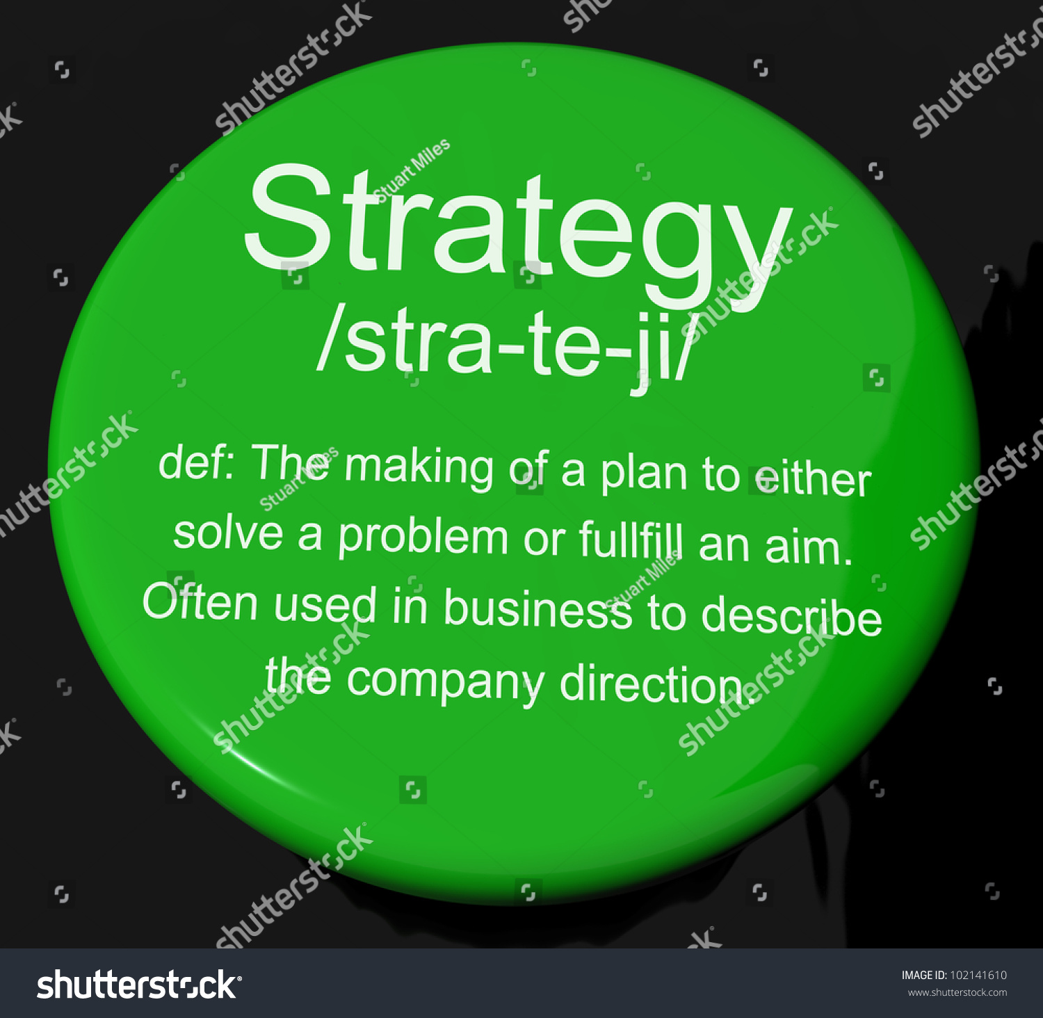 strategy definition button shows planning organization stock strategy definition button shows planning organization and leadership