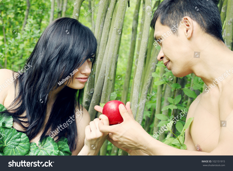 adam eve going eat apple stock photo 102151915 shutterstock