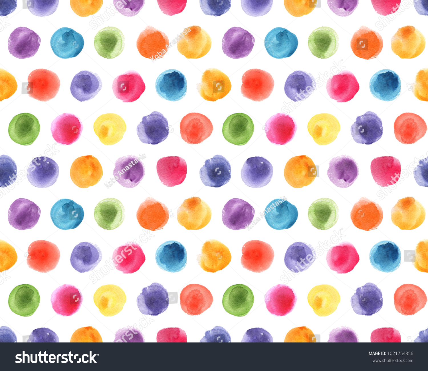 Kids Wallpaper Pattern Polka Dot
