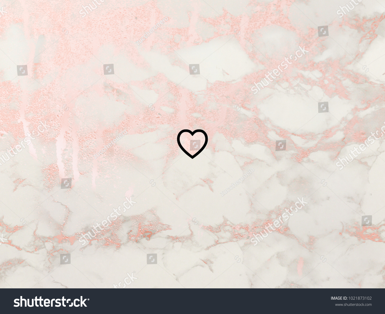 Happy Valentines Day Heart Symbol On Stock Illustration 1021873102