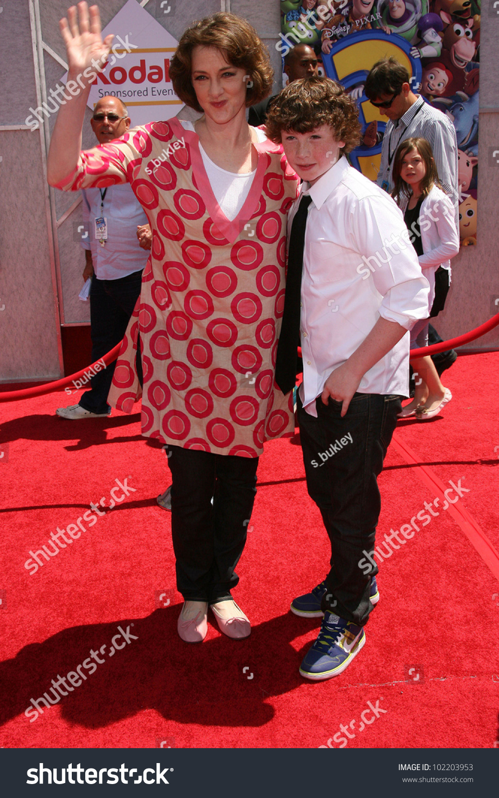 Joan Cusack at the  Toy Story 3  World Premiere El Capitan Theater  sc 1 st  Shutterstock & Joan Cusack Toy Story 3 World Stock Photo (Royalty Free) 102203953 ...