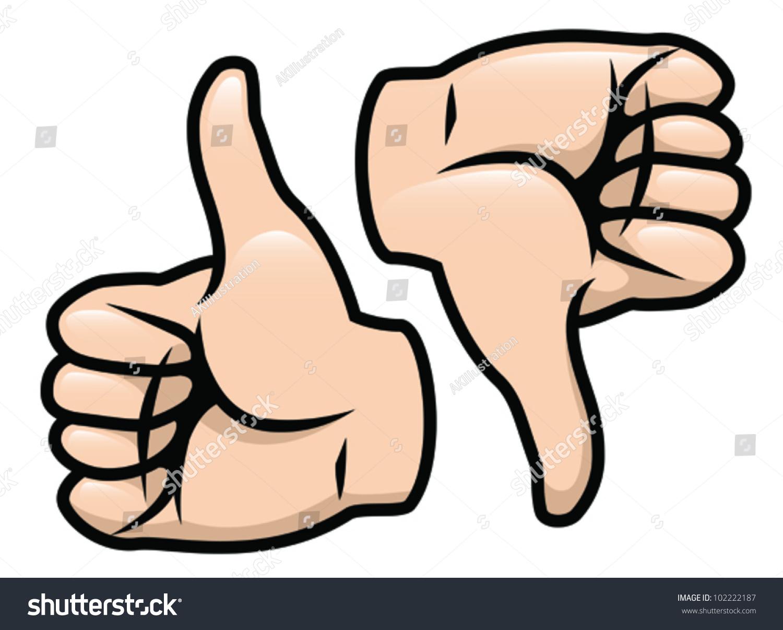 cartoon vector drawing thumbs thumbs down stock vector royalty free 102222187 https www shutterstock com image vector cartoon vector drawing thumbs down 102222187