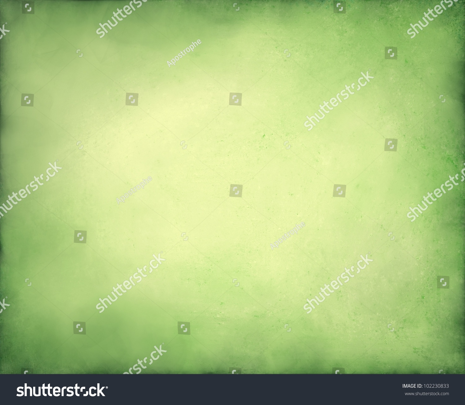 pale abstract green background yellow center stock