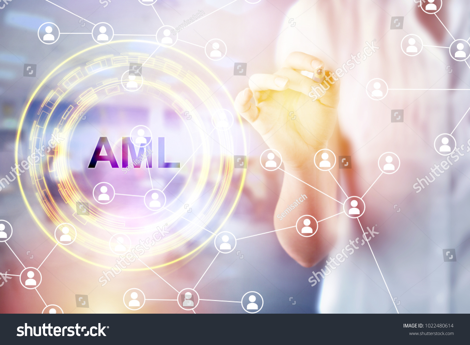 Anti money laundering concept image business stock photo anti money laundering concept image of business acronym aml anti money laundering buycottarizona Images