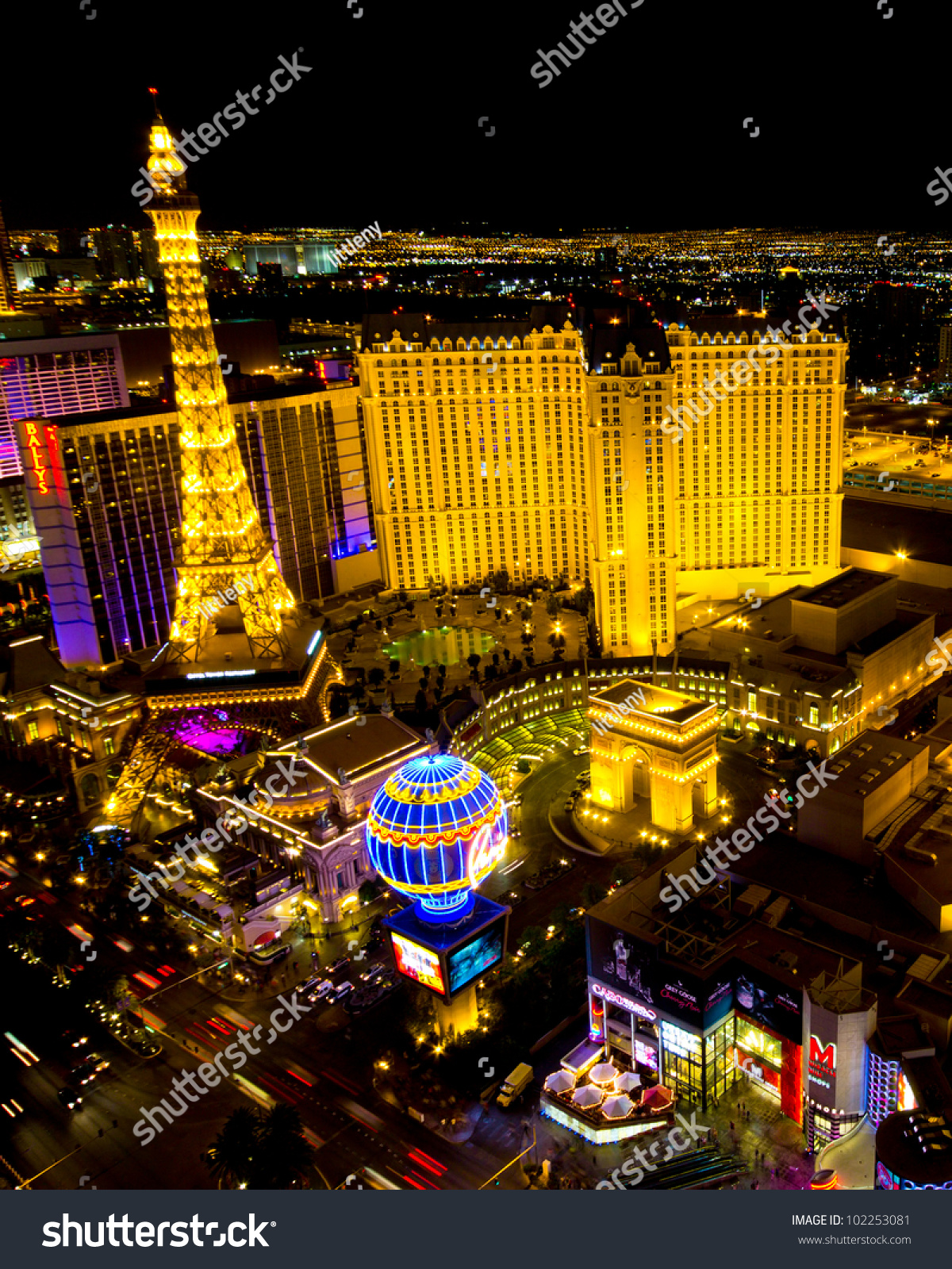 That largest casinos on vegas strip share