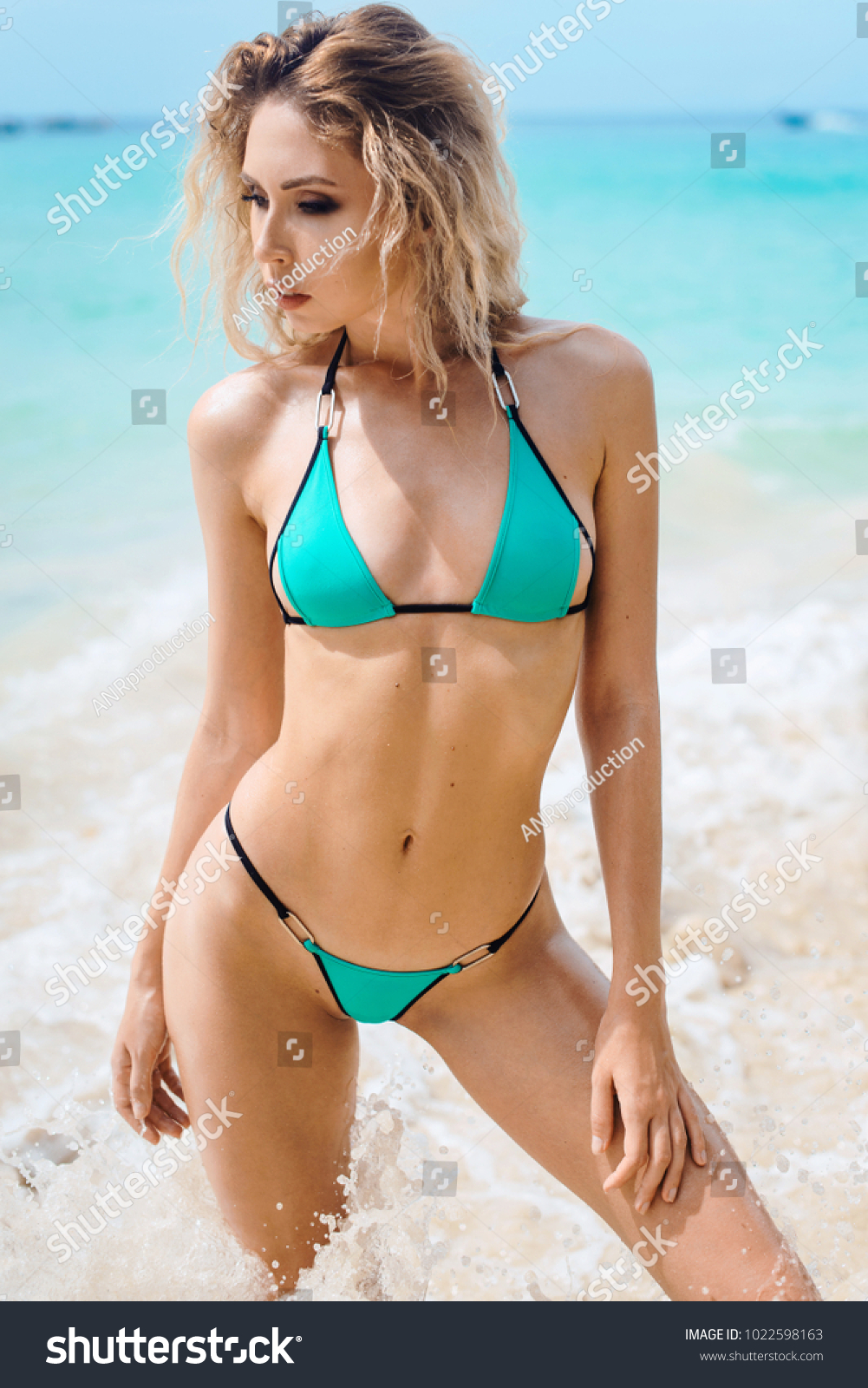Sexy Young Beautiful Russian Girl Little Stock Photo Edit Now