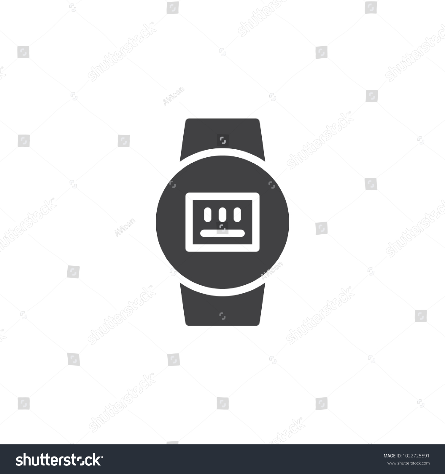 Electric Meter Icon Vector Filled Flat Stock Vector HD (Royalty Free ...