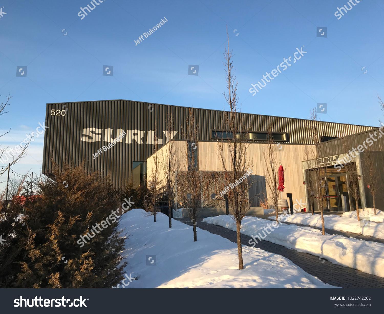 Minneapolis Mnusa February 11 2018 Exterior Stock Photo 1022742202 ...