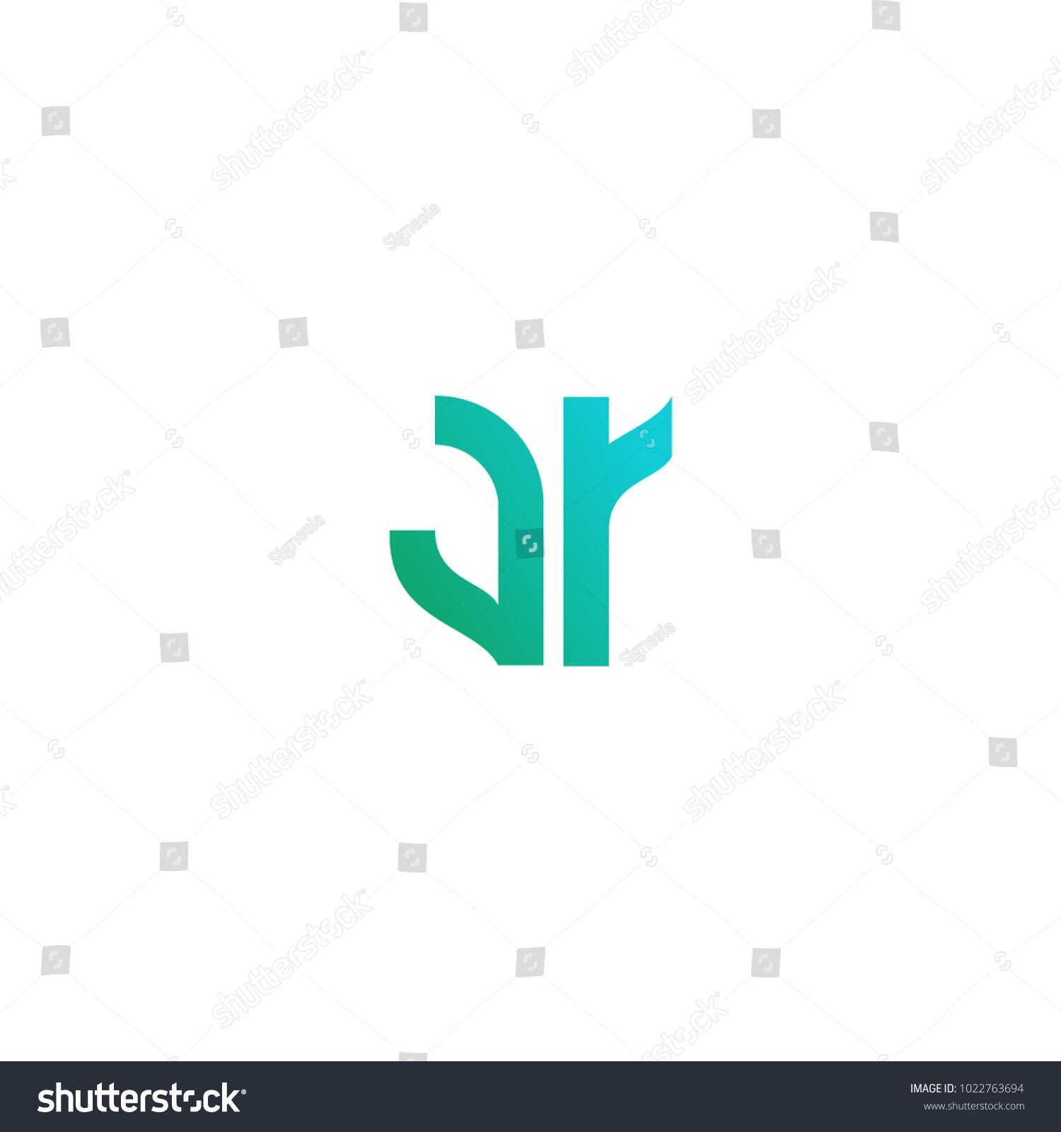 Letter Ar Logo Design Creative Alphabet Stock Vector 1022763694 ... for Logo Design For Alphabets  570bof