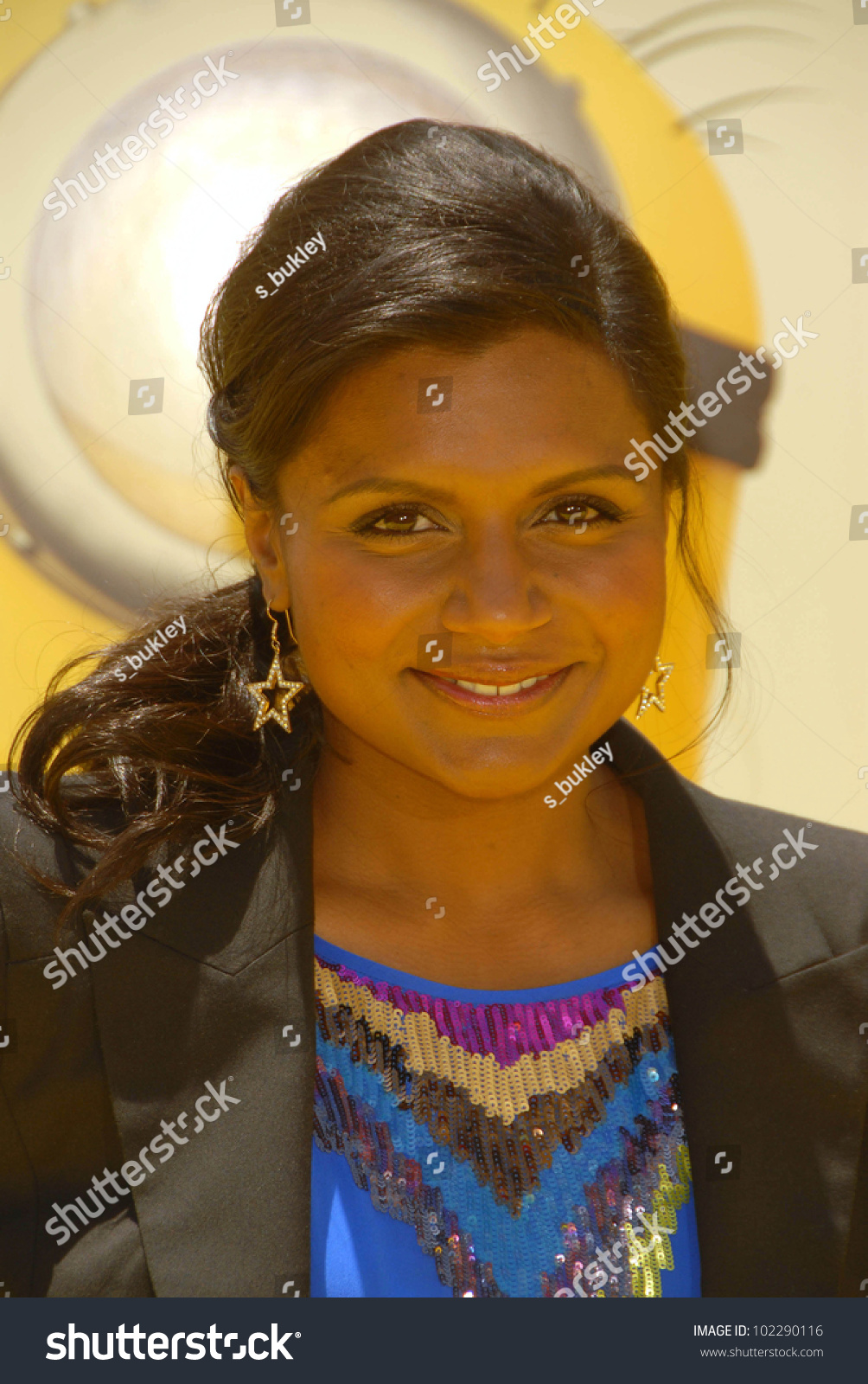 Mindy Kaling Despicable Me Los Angeles Stock Photo Edit Now 102290116
