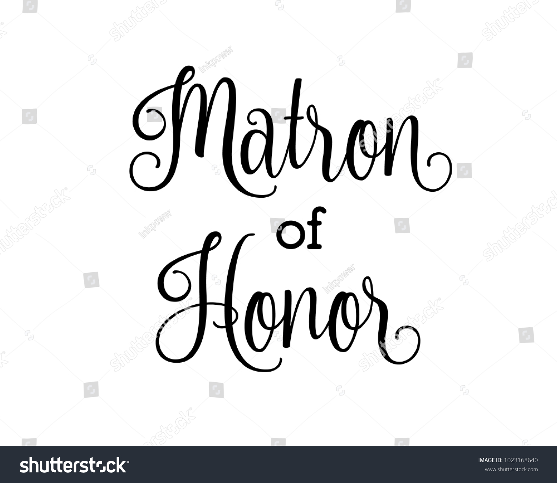 script letter wedding bridal word art stock vector royalty free