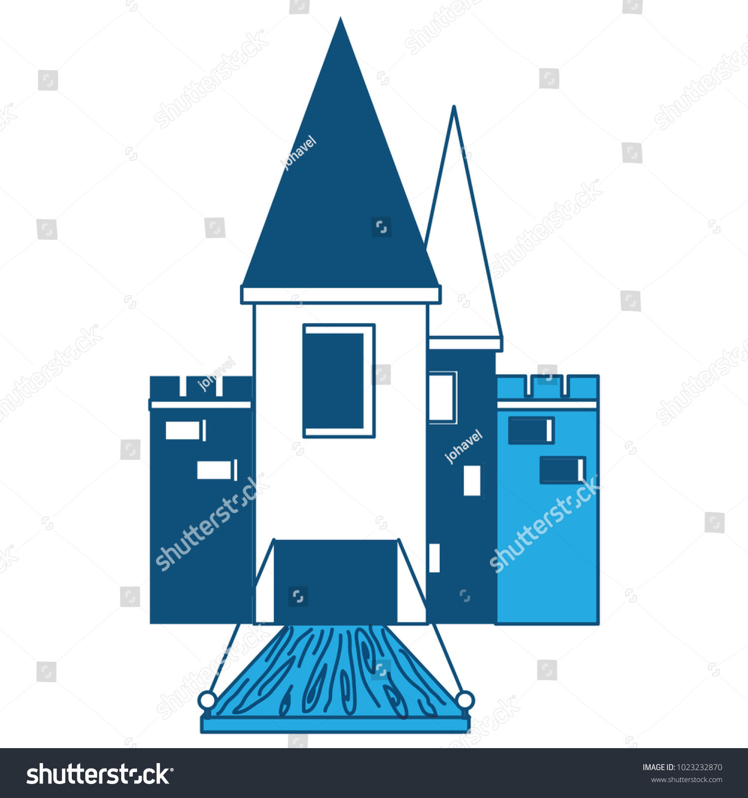 Medieval Castle Design Stock Photo (Photo, Vector, Illustration ...