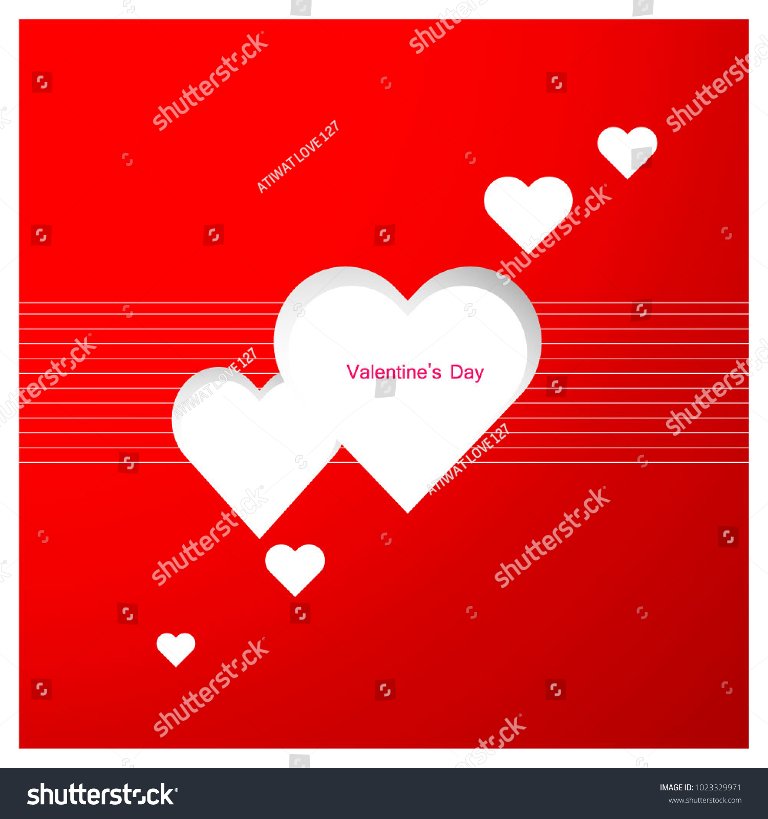 Valentine Card Design Name Best Sms Stock Vector Royalty Free