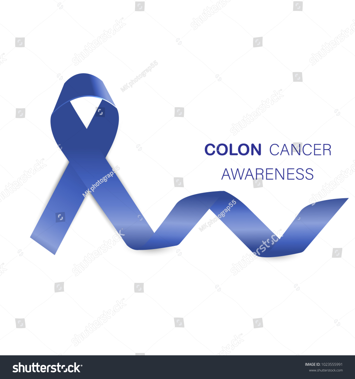 Colon cancer awareness blue ribbon vector stock vector 1023555991 colon cancer awareness blue ribbon vector design and illustration biocorpaavc