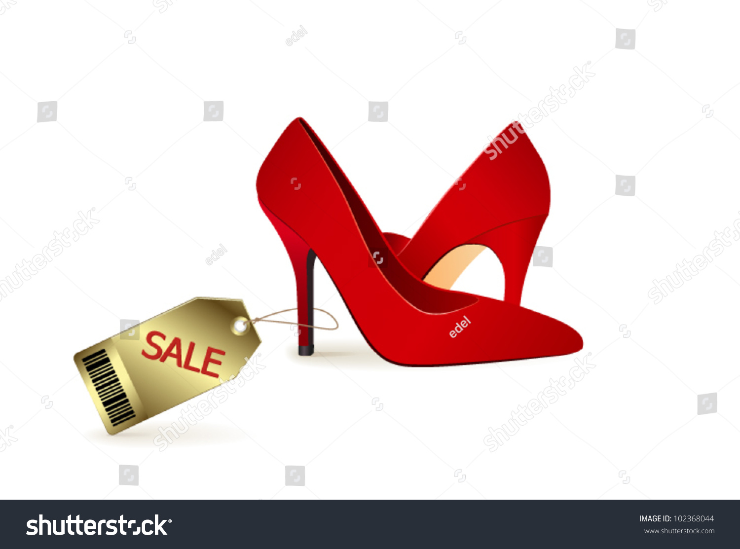 Red High Heel Shoes For Sale