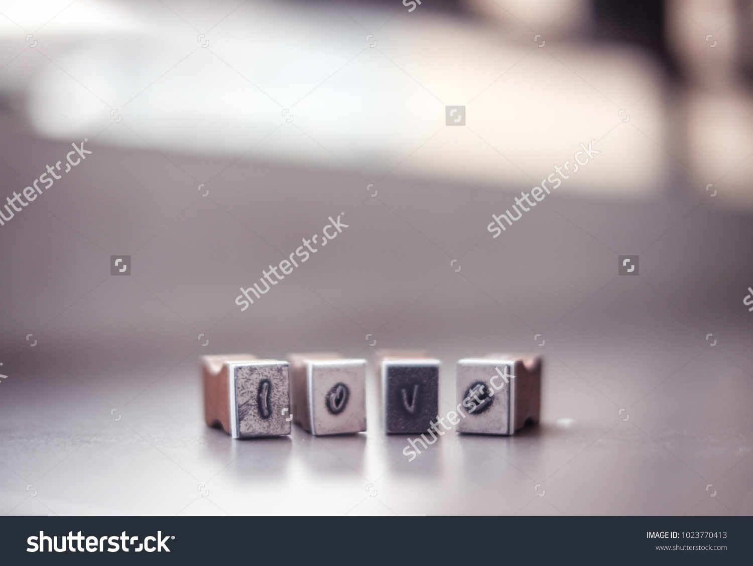 Love Alphabet Symbol Text Message Letter Stock Photo Royalty Free