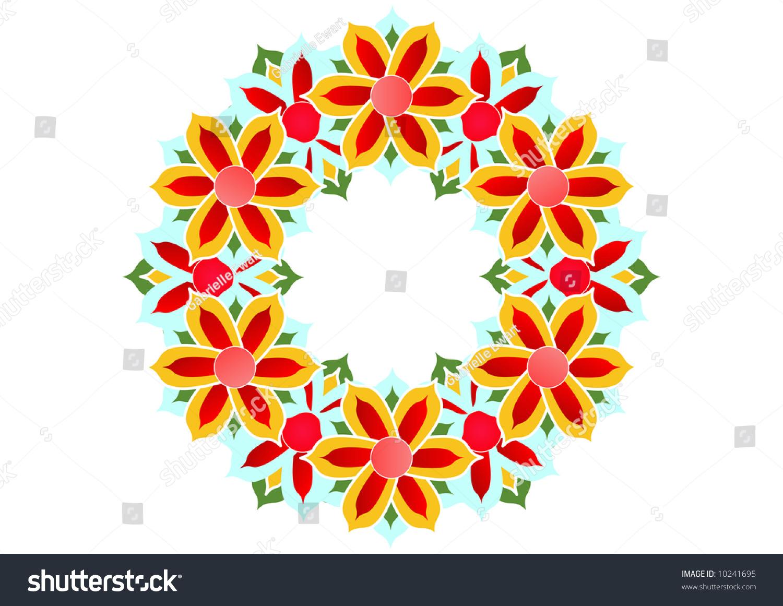Royalty free stock illustration of stylized lotus flower pattern stylized lotus flower pattern izmirmasajfo