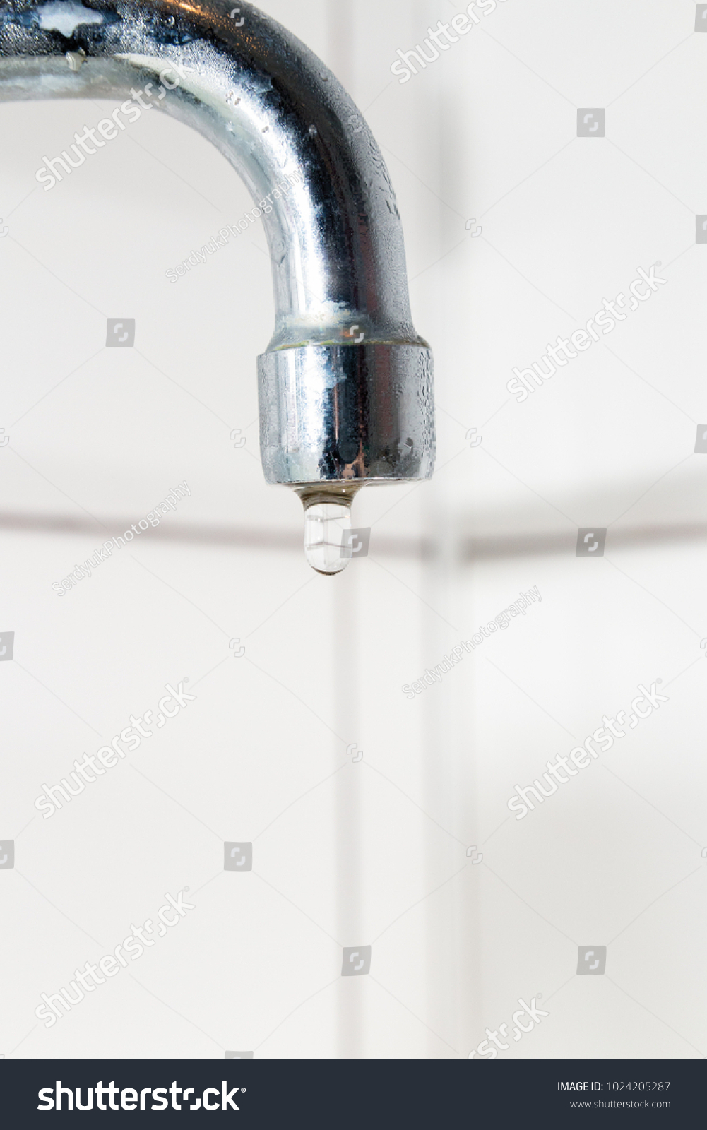 Bathroom Faucet No Water Kitchen Faucet Stock Photo 1024205287 ...