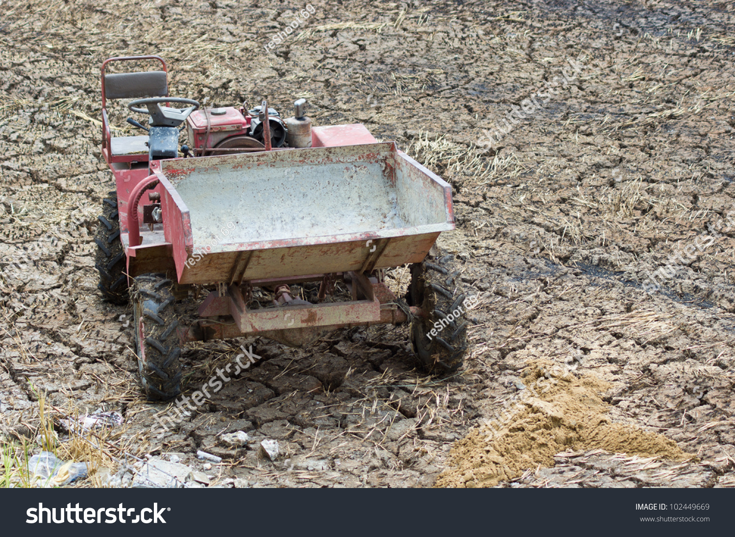 Multipurpose Vehicle Invention Use Local Construction Stock Photo ...