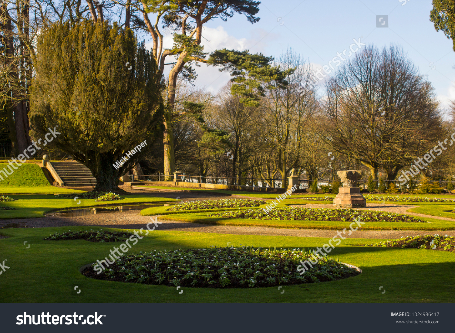 13 February 2018 Formal Gardens Planting Stock Photo (Edit Now ...