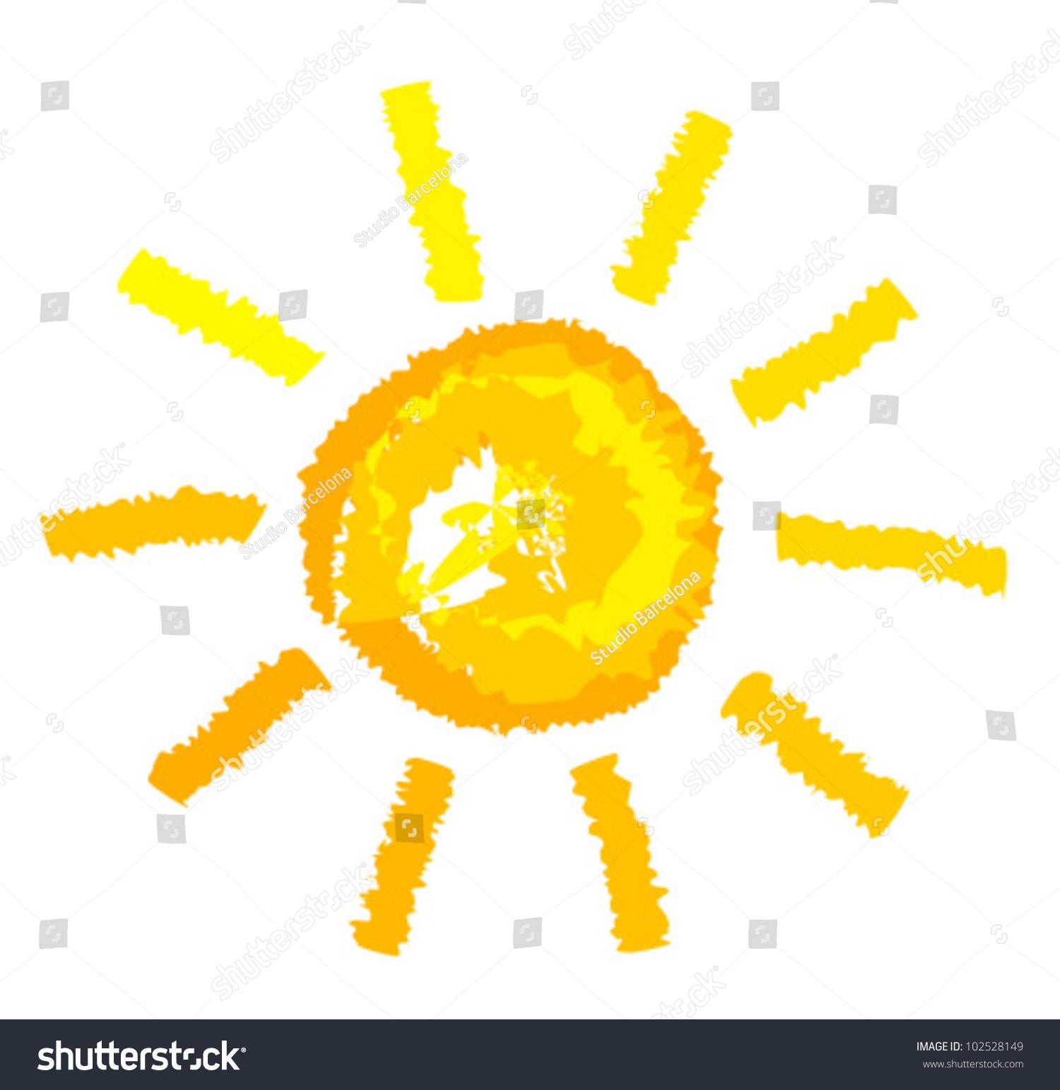 Uncategorized Sun Drawing sun drawing vector illustration stock 102528149 shutterstock illustration