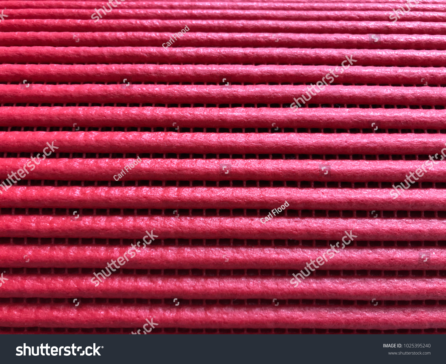 Red Non Slip Rubber Mat Cloth Stock Photo (Edit Now) 1025395240 ...