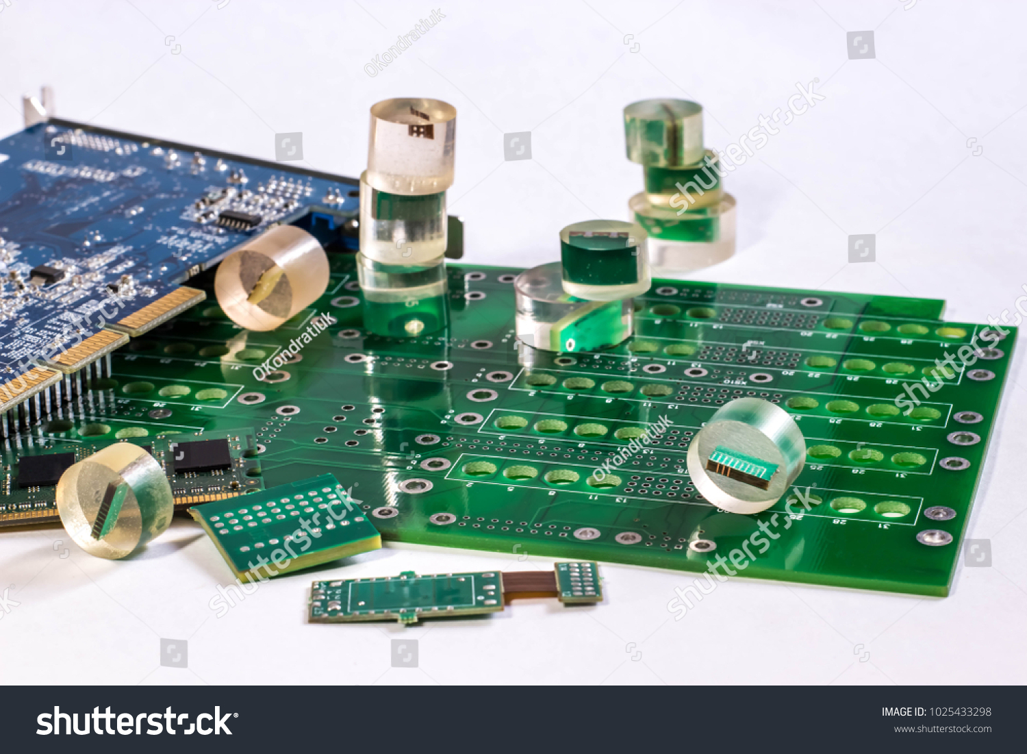 Printed Circuit Boards Pcb Samples Epoxy Stock Photo Edit Now Board Photos Images Pictures Shutterstock And In Resin