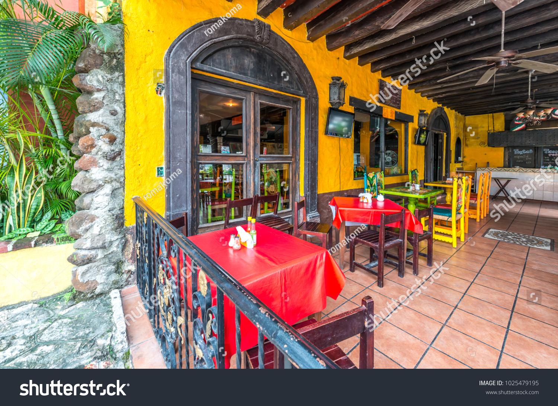 Interior Caribbean Tropical Restaurant Interior Design Stock Photo Edit Now 1025479195