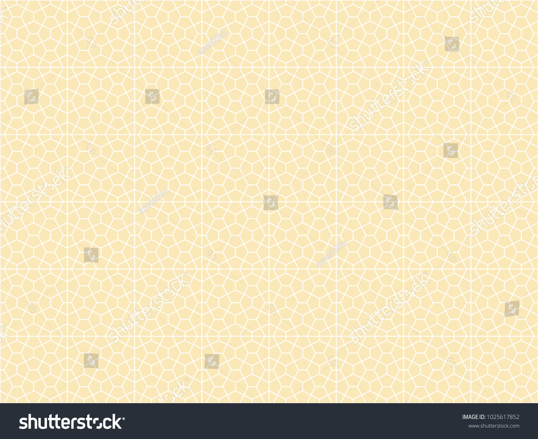 Seamless Pentagon Shape Pattern Vector Tile Stock Vector Hd Royalty