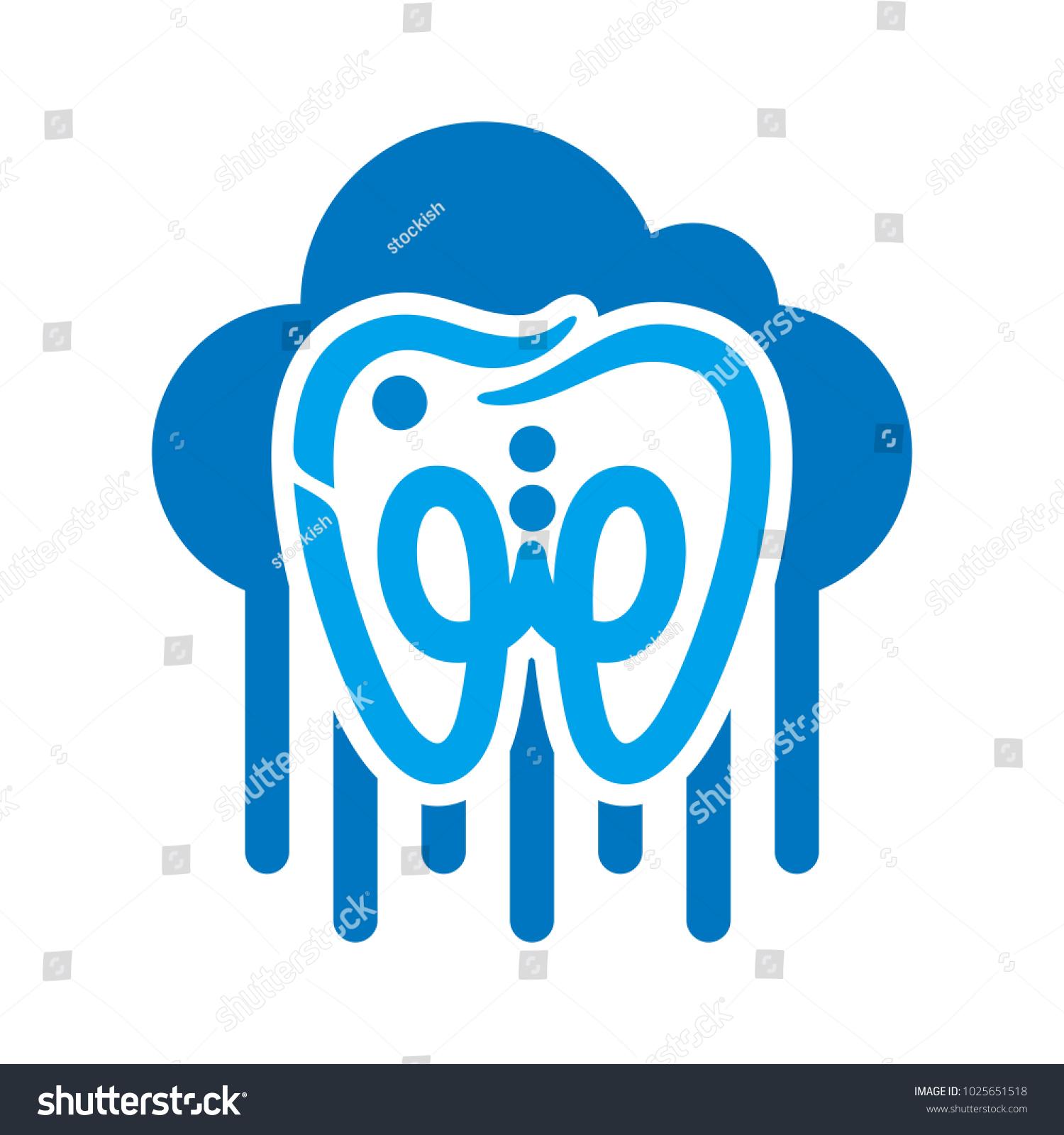 Rain cloud vector logo arabic word stock vector 1025651518 rain and cloud vector logo arabic word haton the meaning buycottarizona Image collections
