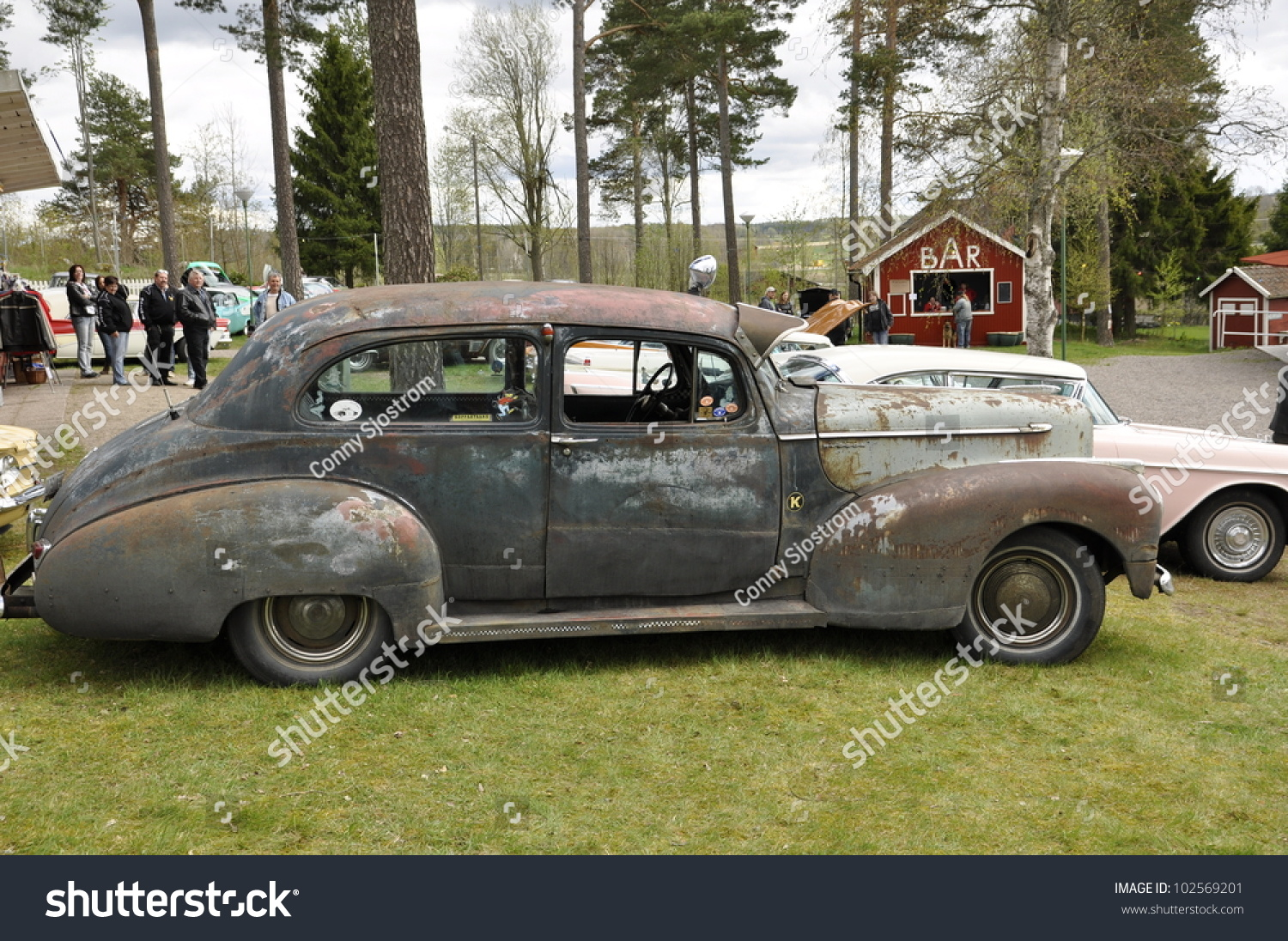 Heby Sweden May 12 Unidentified People Stock Photo 102569201 ...