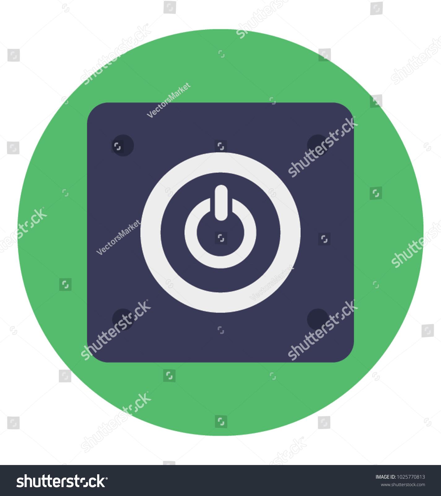 Power button flat icon standby symbol stock vector 1025770813 standby symbol biocorpaavc