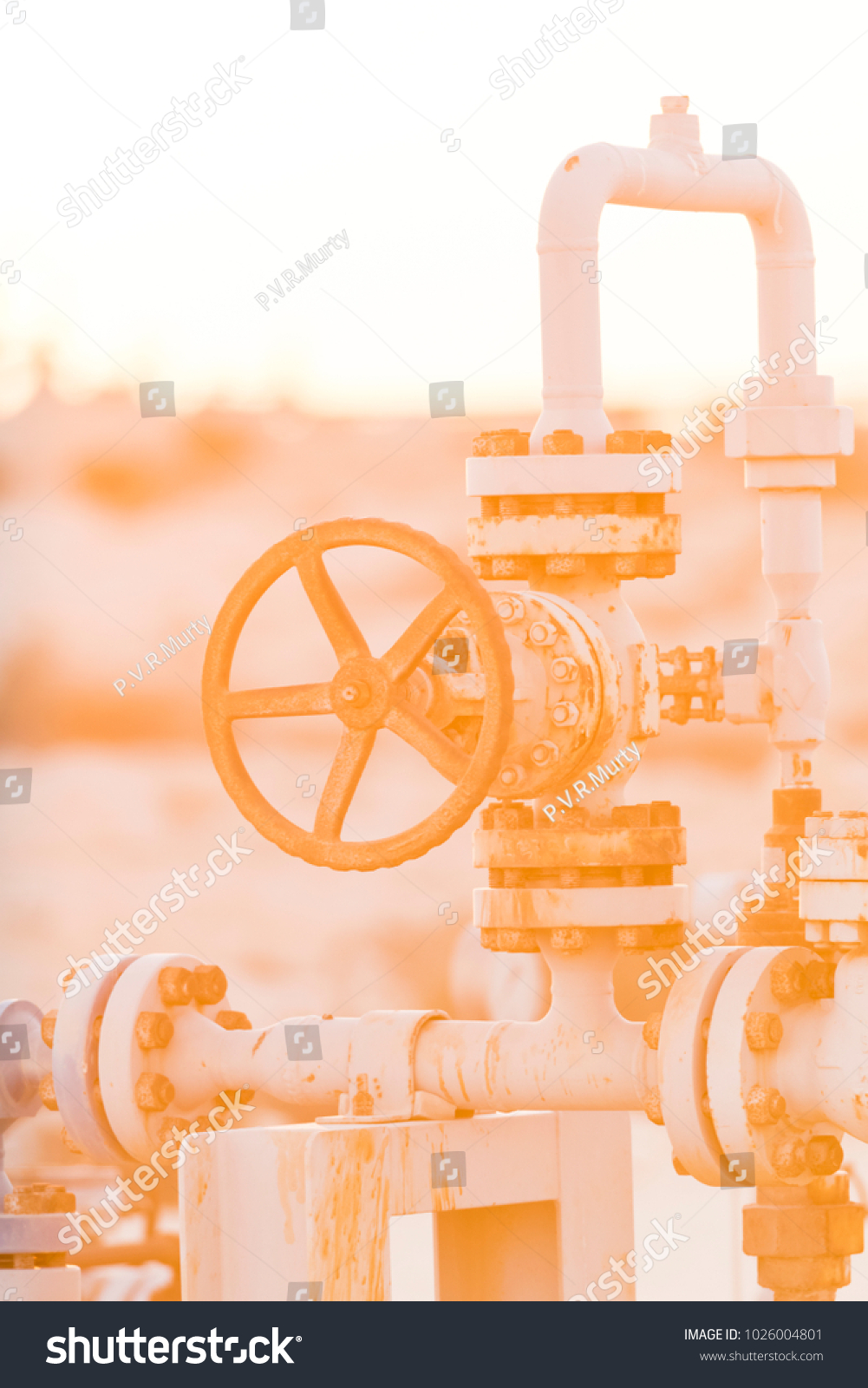 Crude oil well manifold oil field stock photo 1026004801 crude oil well manifold in the oil field biocorpaavc Gallery