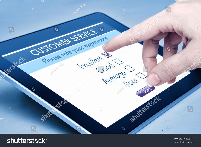 online customer satisfaction survey