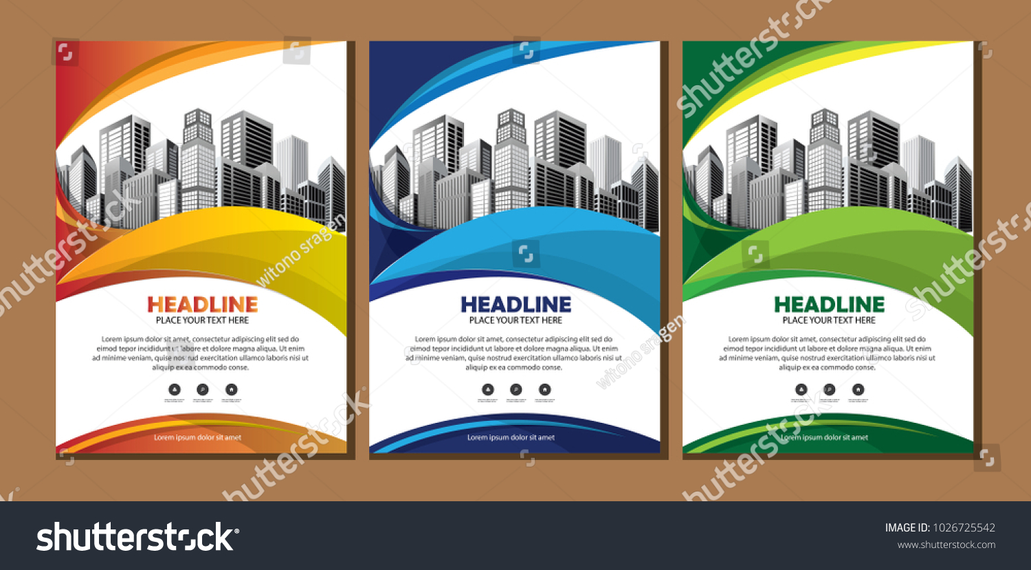 design cover book brochure layout flyer stock vector royalty free