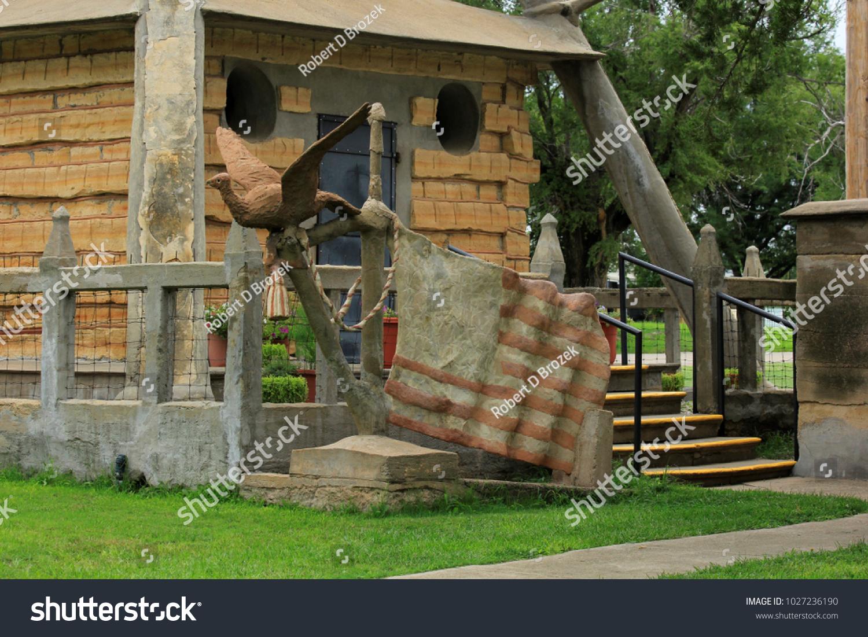 Shot Garden Eden Lucas Kansas USA Stock Photo (Edit Now) 1027236190 ...