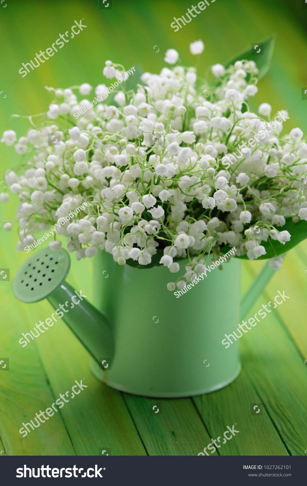 Lily valley flowers bouquet vase stock photo royalty free lily of the valley flowers bouquet in a vase izmirmasajfo Gallery