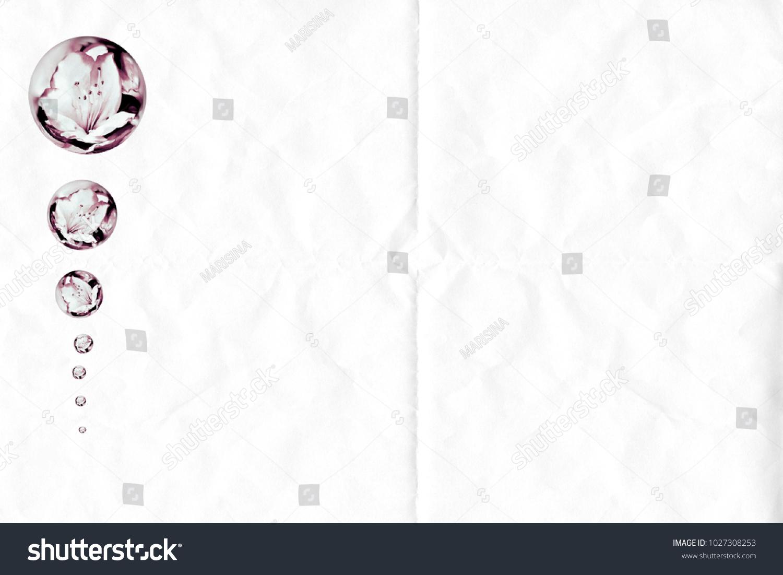 Tarjeta Postal Para Poner Texto Para Stockillustration 1027308253