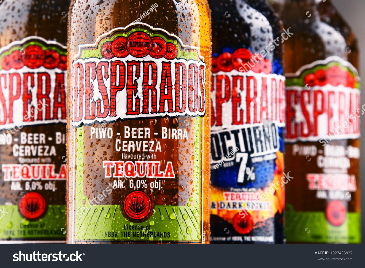 Poznan Poland Feb 14 2018 Desperados Stock Photo Edit Now 1027438837