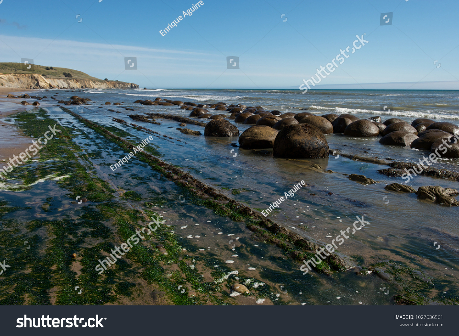 Bowling Ball Beach California Stock Photo Edit Now 1027636561