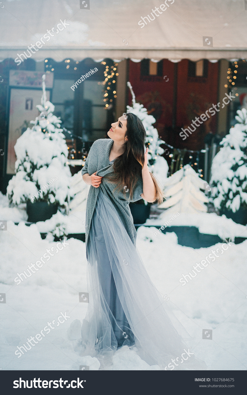 Adorable Girl Light Summer Dress Warm Stock Photo & Image (Royalty ...