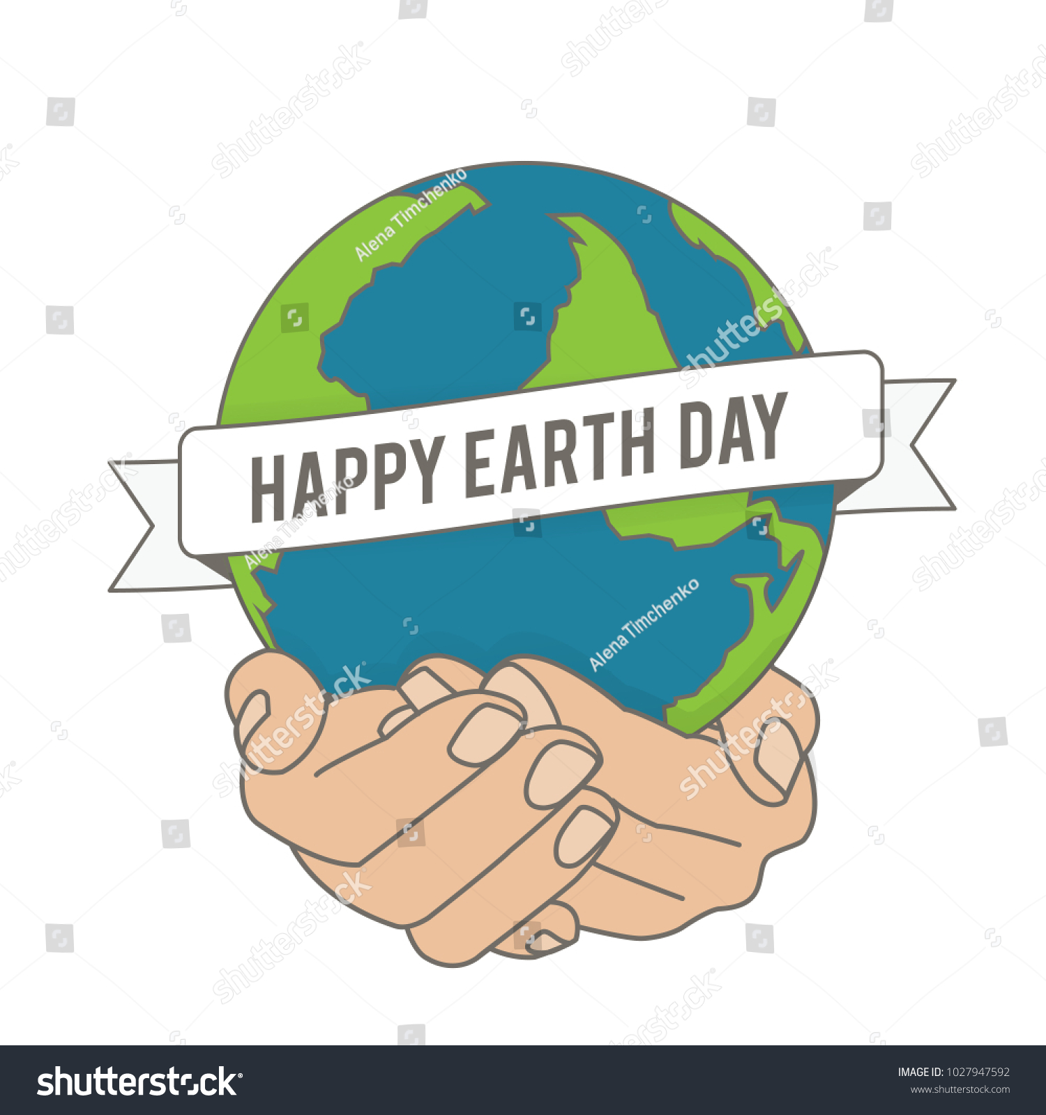 World day earth vector image banner stock vector 1027947592 world day of the earth vector image for banner design poster posters m4hsunfo