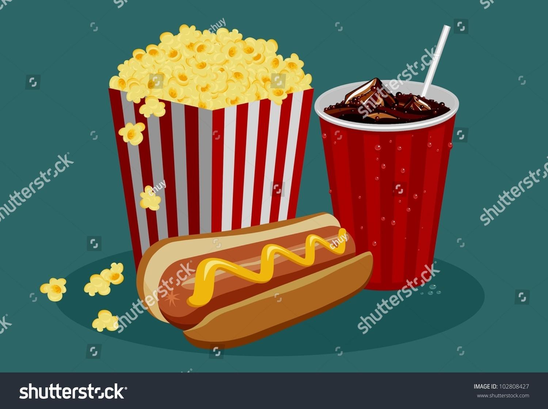 Dog Eating Popcorn Video