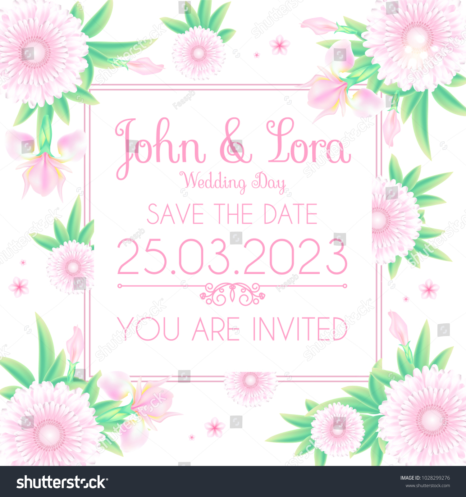 Happy wedding day greeting card template stock vector 1028299276 happy wedding day greeting card template stock vector 1028299276 shutterstock m4hsunfo