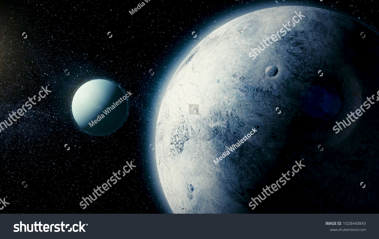 Solar system space satellite ariel eighth stock illustration solar system space satellite ariel it is the eighth and farthest planet from the publicscrutiny Choice Image
