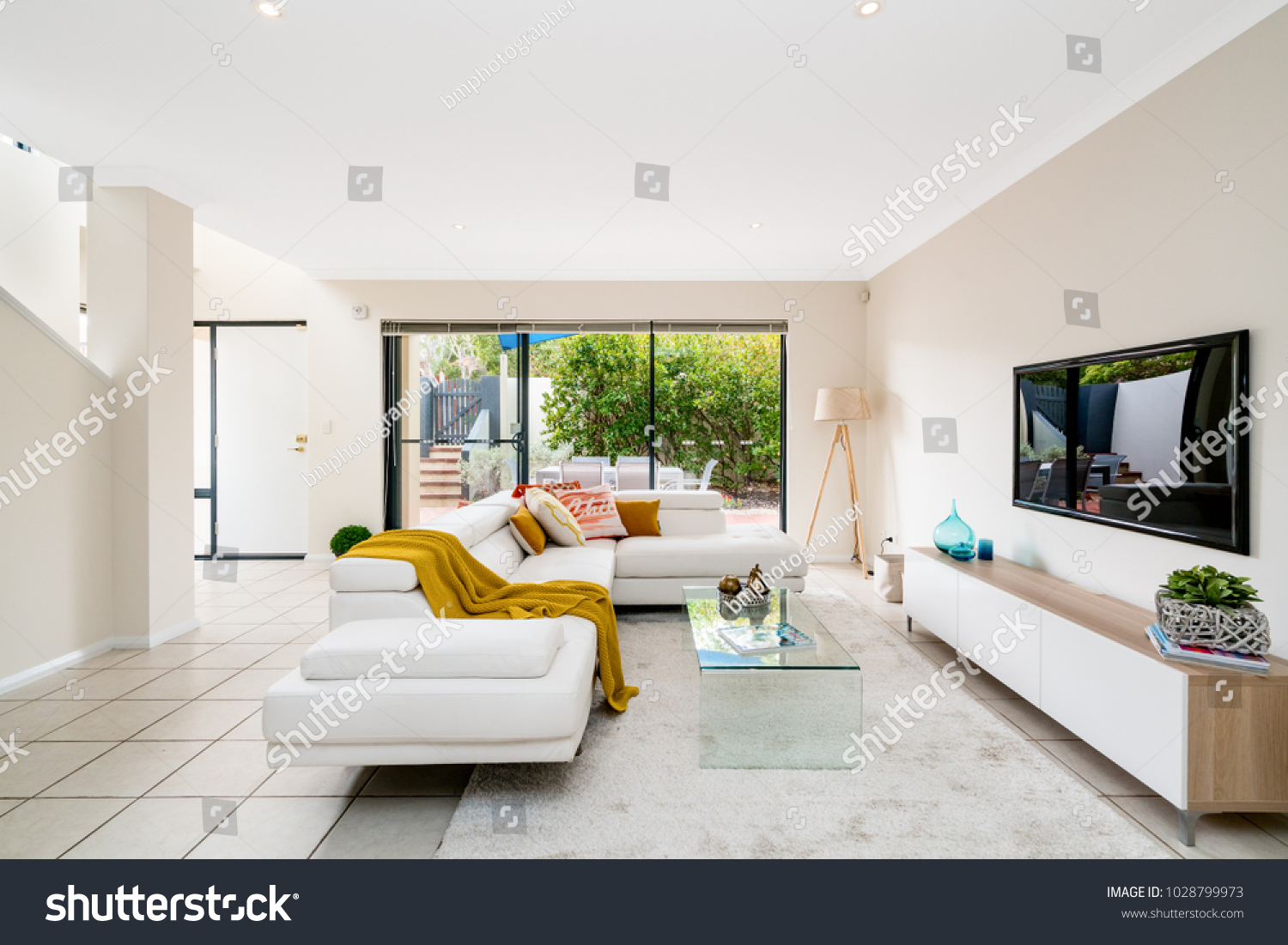 Colourful home interior with modern furniture and decor perth western australia photographed