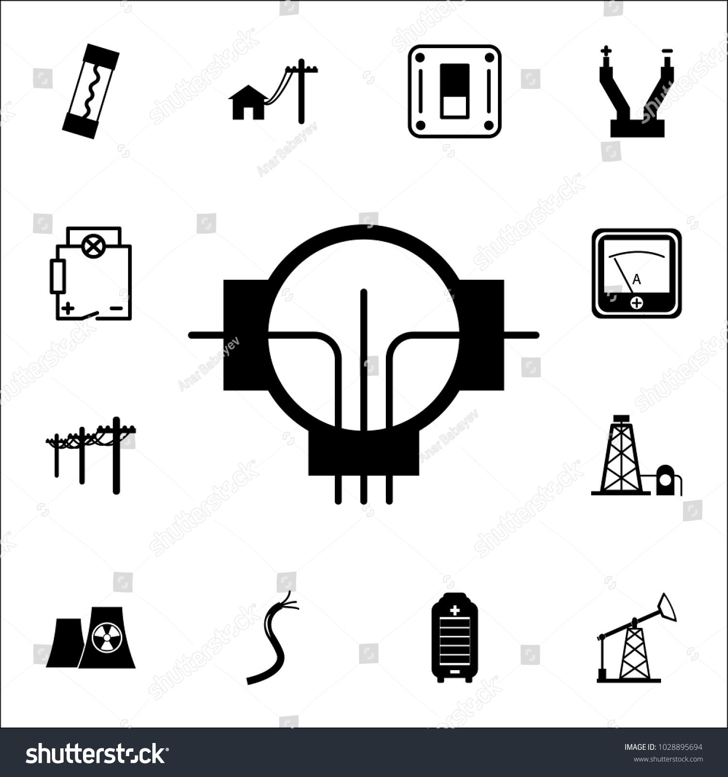 Generator icon set energy icons premium stock vector 1028895694 set of energy icons premium quality graphic design icons signs and buycottarizona Choice Image