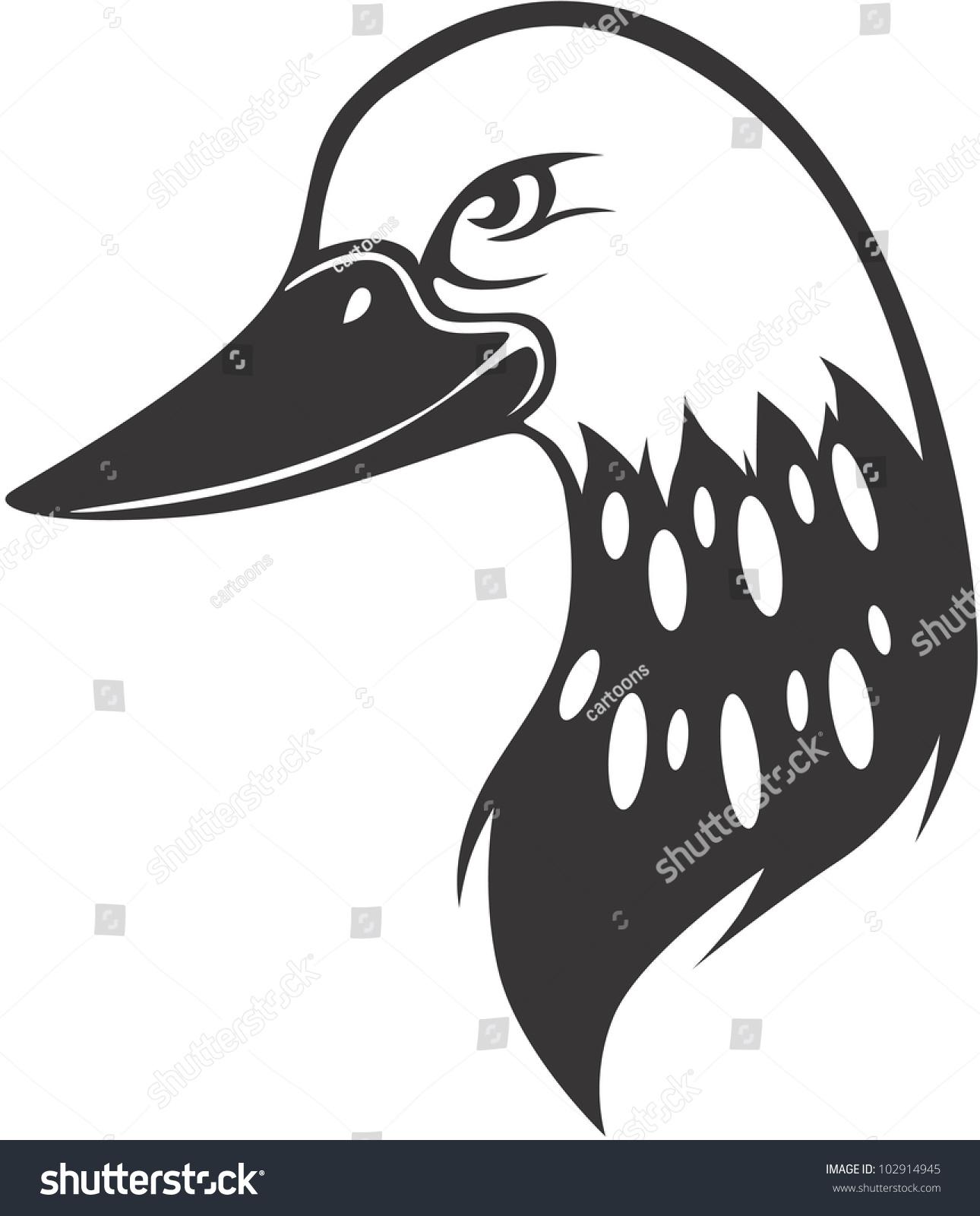 Creative Common Loon Bird Illustration - 102914945 ...